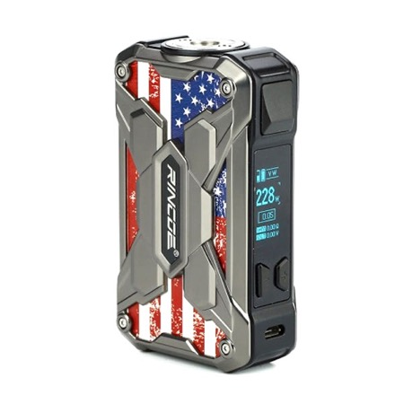 Mechman 228w Mod Steel Wing US Flag Silver