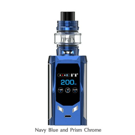 Smok R-Kiss 200W Kit (Navy Blue and Prism Chrome)