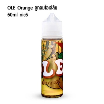 OLE Orange 60ml nic6