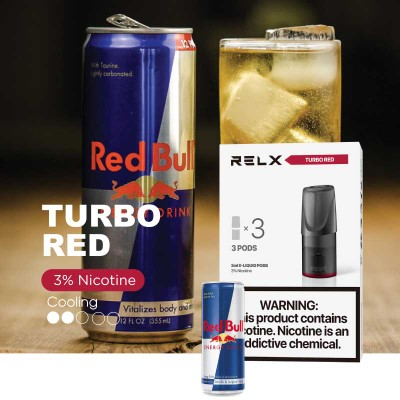 RELX Pod Torbo Red (red bull)
