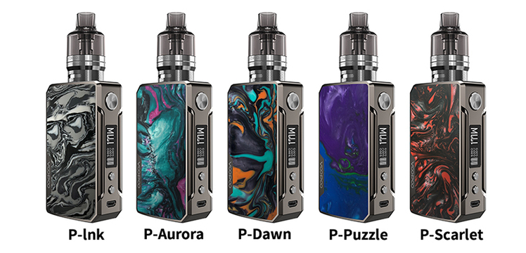 Voopoo Drag 2 platinum 177w box mod kit refresh edition